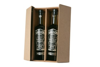 Whiskey 2 Bottle Gift Box