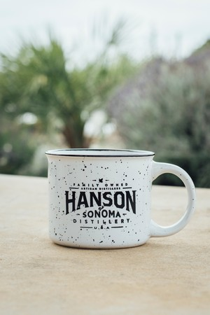 Hanson Camping Cup White