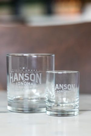 Hanson Engraved Shot Glass