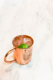 Hanson of Sonoma Copper Mule Mug